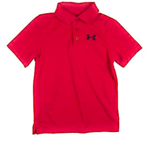 UNDER ARMOUR Red Heat Gear Loose Fit Polo Style XL